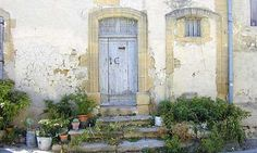 Cadenet, Provence ~ A very old village house. Not typical, because most of the houses are restored, but this had a lot of character.