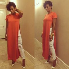 Laura Govan: I love everything about her look. From the hair and the makeup down to her shoes. It's flawless.