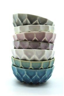 Small bowls - beautiful glazing