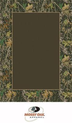 Milliken Mossy Oak Tm Camo Rugs Breakup 534712 Border 45273 Area