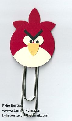 Stampin' Up! Australia: Kylie Bertucci Independent Demonstrator: Angry Birds Punch Art Craze!