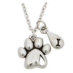 Pet Memorial Jewelry - Always in My Heart Necklace