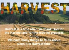 A PowerPoint that can be used for a harvest festival assembly.