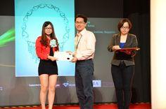 Jang Mi travelled to Kuala Lumpur to receive her certificate award