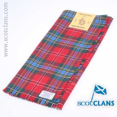 MacLean Tartan Headsquare. Free Worldwide Shipping Available