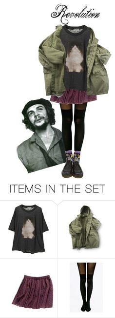 """CHE"" by tearsofashes on Polyvore featuring sanat"