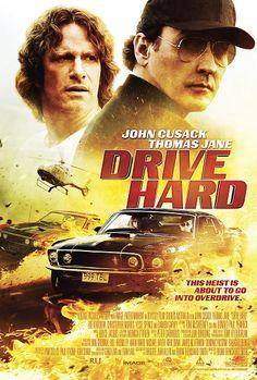 Zorlu Surus - Drive Hard - 2014 - BRRip Film Afis Movie Poster