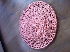 Pink vloerkleed, patroon