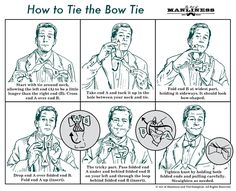 How to Tie the Bow Tie