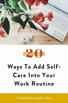 Taking care of yourself belongs in your career too. Create office rituals that make you feel good, so that you can be your best self at work. Maybe it's adding to your desk setup for extra motivation or making lunch routine plans every week. #selfcare #work Career Quotes, Career Advice, Career Goals, Wellness Tips, Health And Wellness, Work Playlist, Tarot, Stress And Mental Health, Job Help