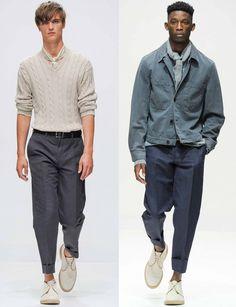 Мужские брюки весна лето 2015 (100 Фото) | Мужской Журнал Мод