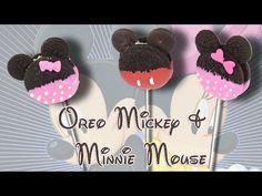 Mickey & Minnie Mouse Christmas Oreo Cookies   Living Locurto - YouTube