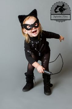 Catwoman costume for kids Image & Make a Catwoman Mask With These Free Instructions | party wedding ...