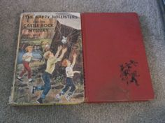 Happy Hollisters Book Lot of 2 HC's  Castle Rock Mystery  At Circus Island