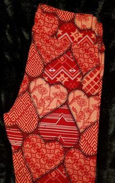 #ValentinesDay LuLaRoe Valentine's Day Leggings!!! Size TC- NWT #ValentinesDay