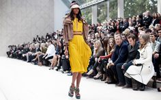 From The Front Row / Burberry | Garance Doré