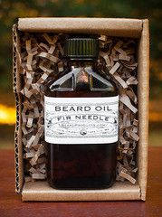 What do you get for the guy who has everything including an awesome beard? Our classy, retro-packaged beard oil!  We have bottled our mighty Fir Needle Beard Oil in a throwback glass apothecary bottle. Gift boxed for your convenience.  http://beardproducts.com/products/fir-needle-beard-oil