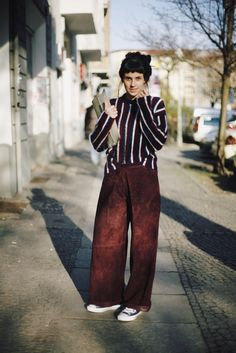 OUTFIT // Fashion Week Berlin Tag II <br/> mit Chucks & Wildleder Culotte