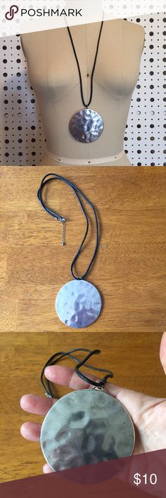 Topshop Boho Necklace Topshop boho necklace, metal flat circle, diameter 3 inches Topshop Jewelry Necklaces