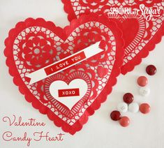 Easy Valentine Heart - A Spoonful of Sugar