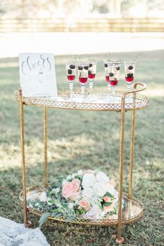Wedding signature drinks Southern Garden Chic Wedding Inspiration, garden wedding signature drinks