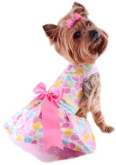 Easter Dresses for dogs, pet puppy, puppy boutique Dog clothing