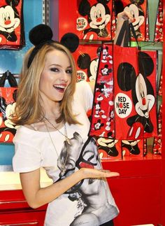 Bridgit Mendler Disney Store DARLING