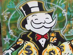 Mr Monopoly Got Paid by crockerart on Etsy https://www.etsy.com/listing/290715985/mr-monopoly-got-paid