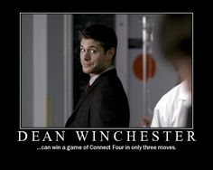 Dean Winchester - Supernatural the-geek-shall-inherit-the-earth @Stephanie Close Chappell