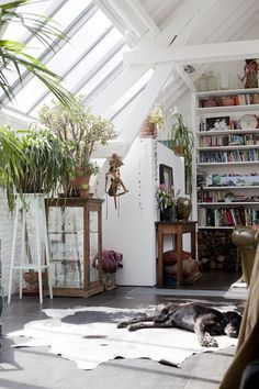 Such a great space. I LONG for a bright room like this! Home of Bart Haverkamp and Pieter Croes