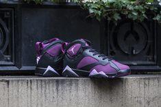 "Girls Air Jordan 7 Retro ""Mulberry"" - EU Kicks: Sneaker Magazine"