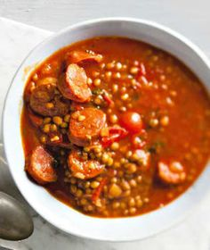 Husté, syté polévky prohlašujeme za nejlepší pokrm k večeři, zvlášť v zimním období. Chili, Soup, Chile, Soups, Chilis