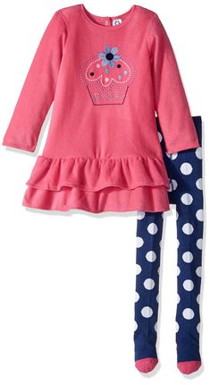 Gerber Baby Fleece Dress With Tights cupcake 18 Months ** You can get more details by clicking on the image.-It is an affiliate link to Amazon. #BabyClothing