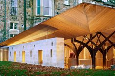 Built for the University Chaplaincy and friary for The Order of Preachers this new chapel is situated on George Square at the University of Edinburgh in th