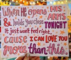 More Than This by One Direction.. i wish i was this artistic..