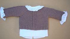 No os podéis perder el Jersey de Bebé Carlitos, los modelos que se ven en las fotos son en algodón para el verano y en lana merino para invierno, en la página