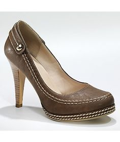Top Stitch Pump by Monroe and Main from Monroe and Main