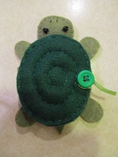 needle book turtle by roler