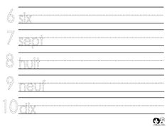 Decent Grade 1 French Immersion Free Worksheets that you must know, You're in good company if you're looking for Grade 1 French Immersion Free Worksheets Spanish Worksheets, Number Worksheets, Free Printable Worksheets, Kindergarten Worksheets, Worksheets For Kids, French Numbers, Spanish Numbers, Italian Lessons, Alphabet
