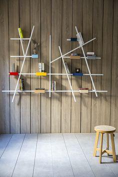 Etta Big Shelf by Kann, design José Pascal