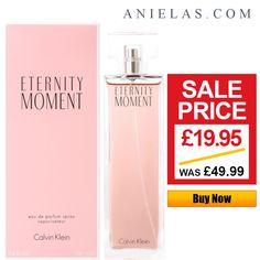 022451f90e Calvin Klein Eternity Moment Eau de Parfum Spray Special Offer - 100ml