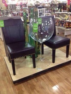 Giant wine glass. MUST HAVE