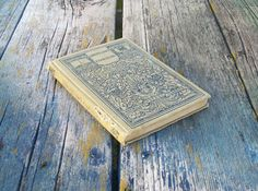 Antique book Evangeline by Henry Wadsworth by VintageCDChyld