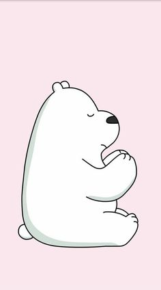 From kawaii wallpaper. Cute Panda Wallpaper, Bear Wallpaper, Kawaii Wallpaper, Disney Wallpaper, Iphone Wallpaper, Garfield Wallpaper, We Bare Bears Human, Ice Bear We Bare Bears, We Bear