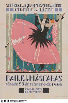 1922 - Baile de Mascaras - Liceu