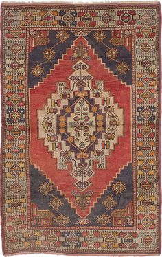Anatolian Hand-Knotted Dark Copper Indoor Area Rug