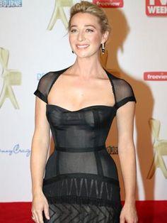Asher Keddie - in that gorgeous dress