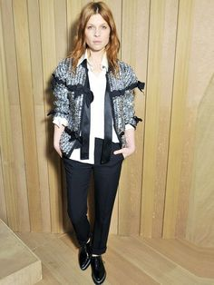 How to Nail Clémence Poésy's Effortless French-Girl Style via @WhoWhatWearUK