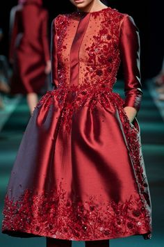 Georges Hobeika at Couture Fall 2013 (Details)