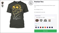 Premium Custom T-shirt  Available in all sizes for Men & Women.Buy it now before the stock ends. Our new design is out now at an amazing low price of $14.99.